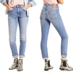 Levi's Classic 501 Post Modern Blues Skinny Jeans